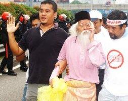 Gambar A. Samad Said (Demo Bantah PPSMI)